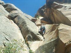 Rock Climbing Photo: i little layback