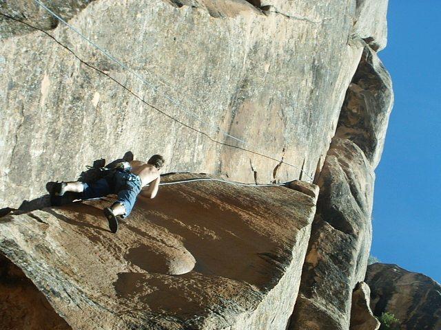 Rock Climbing Photo: nice warm up before getting to the hard stuff