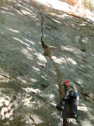 Rock Climbing Photo: Fantasy.  Endless Wall, New River Gorge