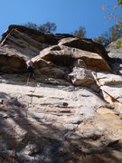 Rock Climbing Photo: Legacy.  Endless Wall, New River Gorge