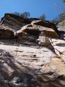 Rock Climbing Photo: Legacy.  Endless Wall, New River Gorge