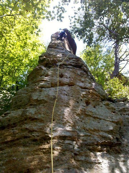 Rock Climbing Photo: The Arrowhead in August. Super fun climb!