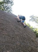 Rock Climbing Photo: Bouldering Lunch Rock Direct.