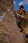 "Rock Climbing Photo: Dialing in the ""dyno"""
