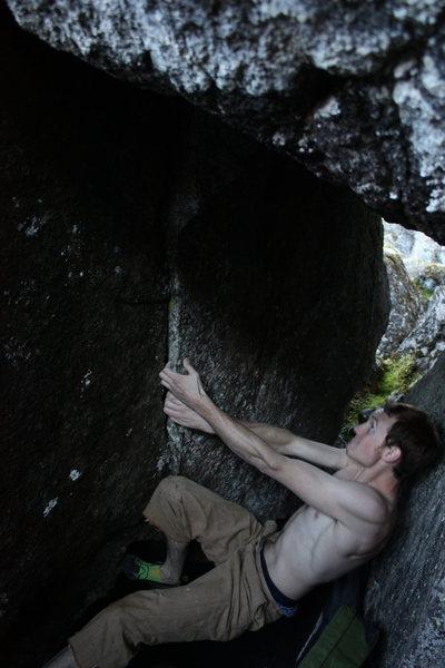 Rock Climbing Photo: Nathan on 'Shelob's Lair'