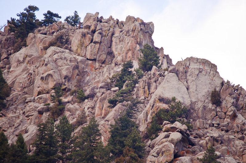 Rock Climbing Photo: Long Walk Rock.