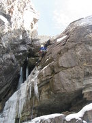 Rock Climbing Photo: Mixed pitch.