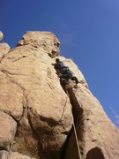 Rock Climbing Photo: Warm up.... The only route here where we didn't ac...