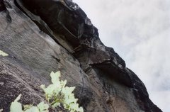 Rock Climbing Photo: JAG on Pitch 4 of The Childrens Crusade