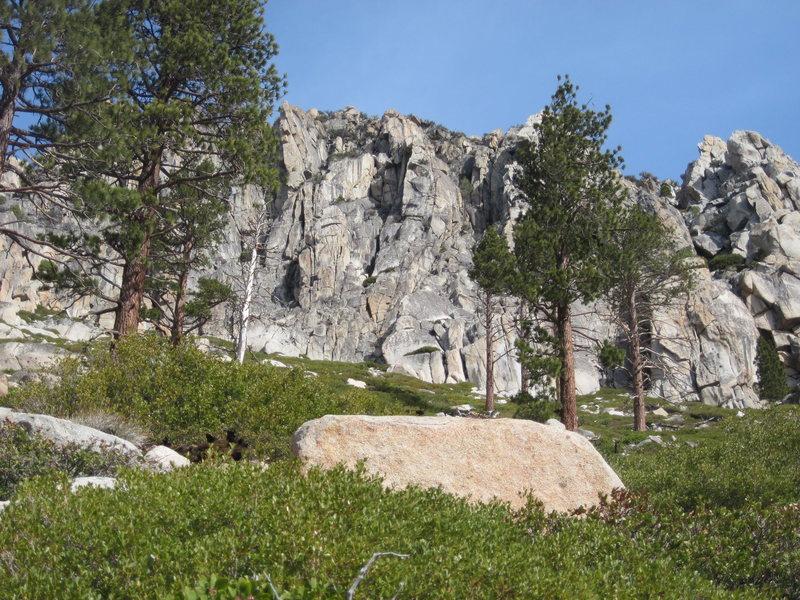 Rock Climbing Photo: The Fortess