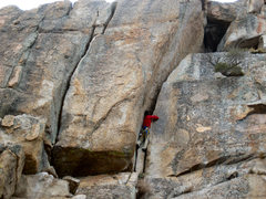 Rock Climbing Photo: Solo FA?
