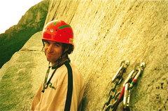 Rock Climbing Photo: steve o sickle ledge el capitan yosemite ca