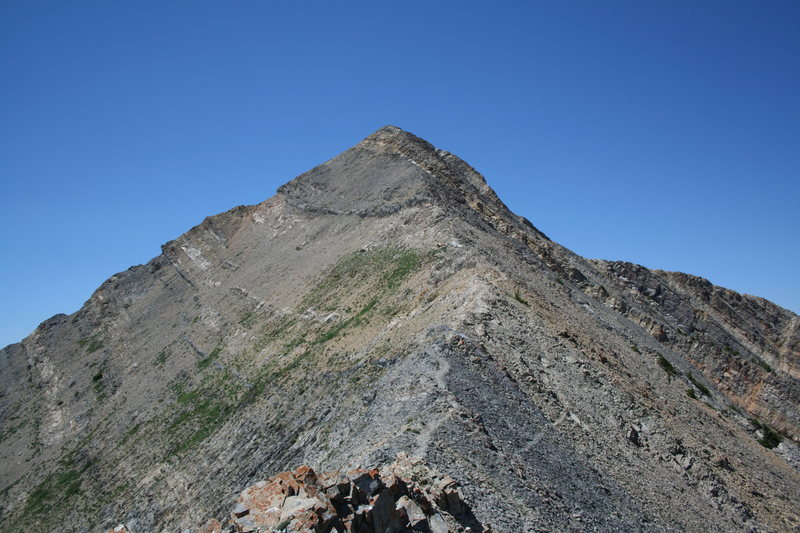 Rock Climbing Photo: mt nebo summit ridge utah
