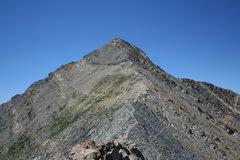 Rock Climbing Photo: mt nebo summit ridge utah
