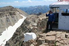 Rock Climbing Photo: mt timp summit hut 11,479ft