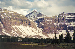 Rock Climbing Photo: kings peak 13,528ft utah