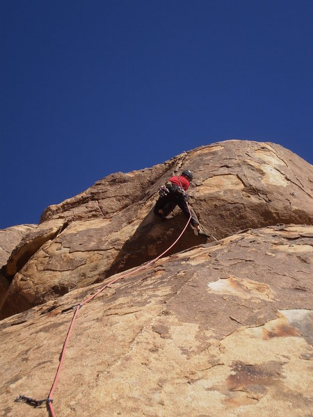 Me starting short and powerful crack section.  It takes great pro!