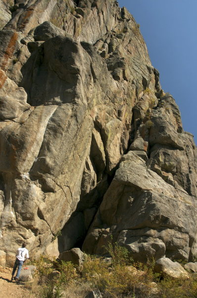 Rock Climbing Photo: Jackson's Wall 5.6