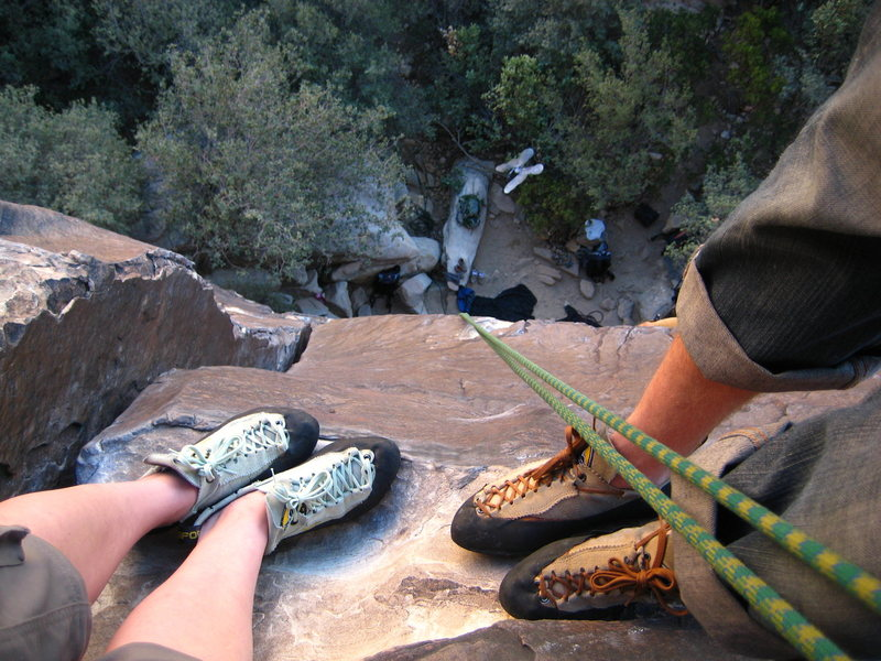 Rock Climbing Photo: Red Rocks with The Bobby