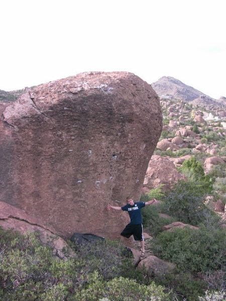 Rock Climbing Photo: Start on Buttery Crimps and climb left on more but...