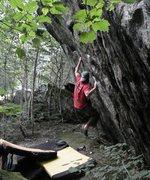 Rock Climbing Photo: Monarchy, Smugglers Notch VT