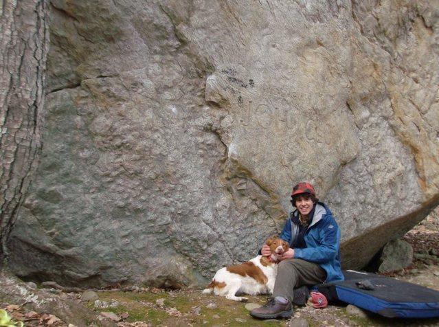Rock Climbing Photo: John Clough Boulder