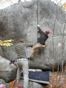 Rock Climbing Photo: Crack of Pain- Jamie Kinnaird