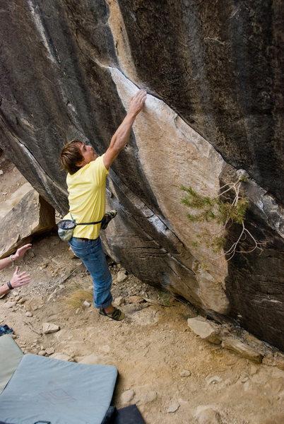 Rock Climbing Photo: The wind below - Joe's