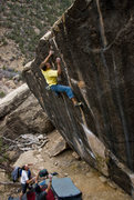 Rock Climbing Photo: The wind below