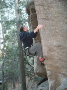 Rock Climbing Photo: Mitch Harris on Gorilla Milk in November, 2010.