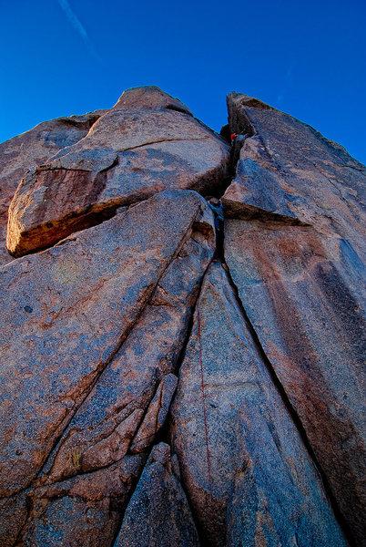 Rock Climbing Photo: shred.