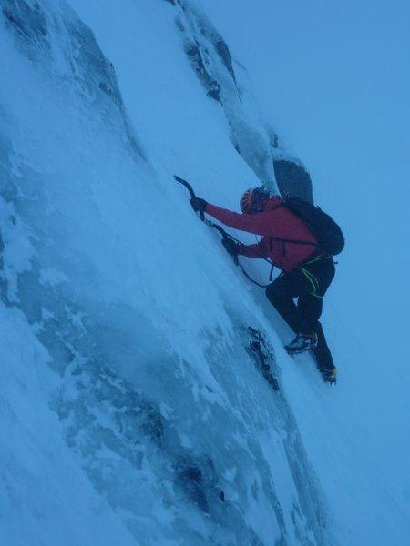 Rock Climbing Photo: alpine solo '10