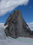 Rock Climbing Photo: Snowpatch Descent Photo by MP contributor Kevin Cr...