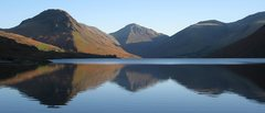 Rock Climbing Photo: Anothe view of Wastwater Lake ,and in the center G...