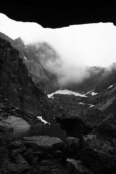 Rock Climbing Photo: Long's.