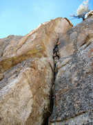 Rock Climbing Photo: Breathe in.