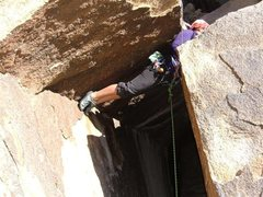 Rock Climbing Photo: Tall Boy 5.10a if you are tall.  5.10b/c if you ar...