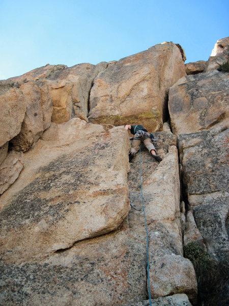 Rock Climbing Photo: Start of the OW