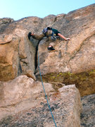 Rock Climbing Photo: Stemmin it