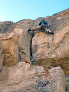 Rock Climbing Photo: More stemming?