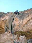 Rock Climbing Photo: Looking to the top