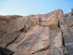 Rock Climbing Photo: Karsten enters the OW