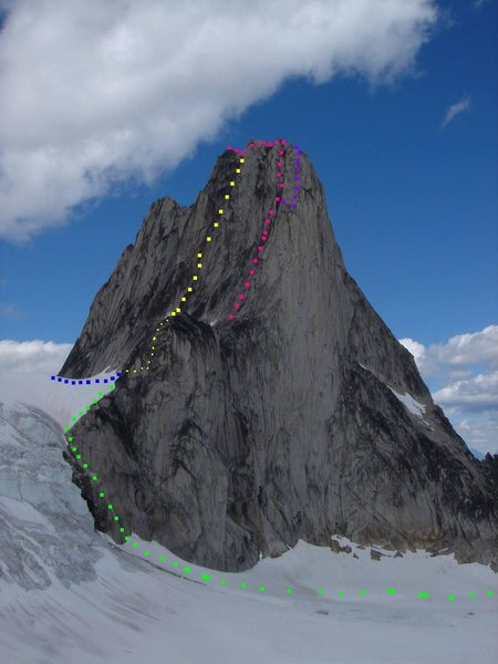 Rock Climbing Photo: Southwest Ridge of Snowpatch Photo by MP contribut...