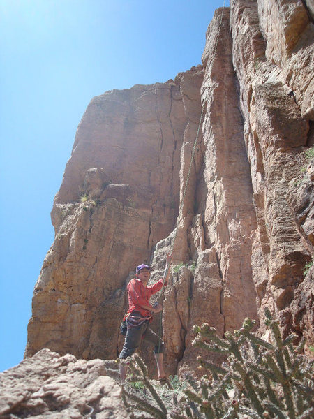 Rock Climbing Photo: I will belay you real nice.