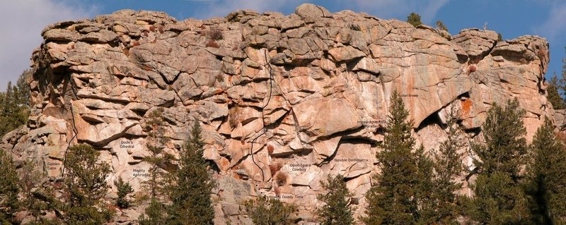 Rock Climbing Photo: Dude's Panorama.