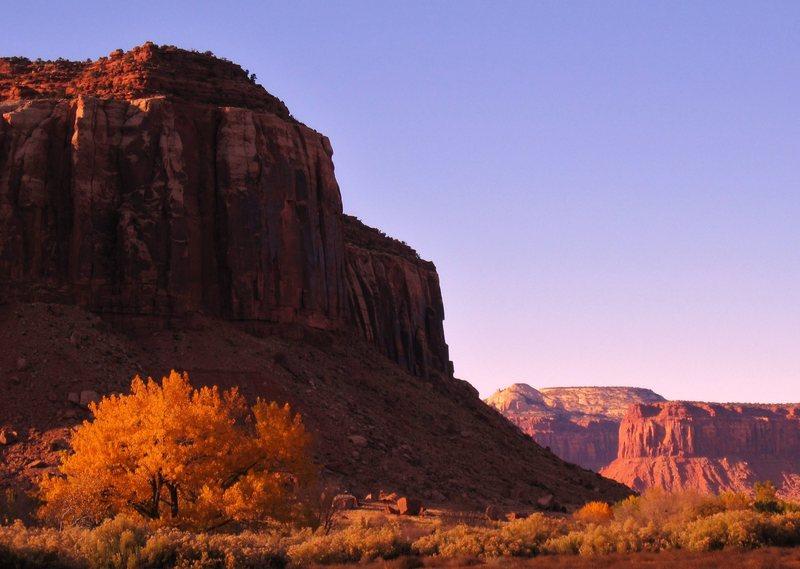 Rock Climbing Photo: Fall colors In the Creek