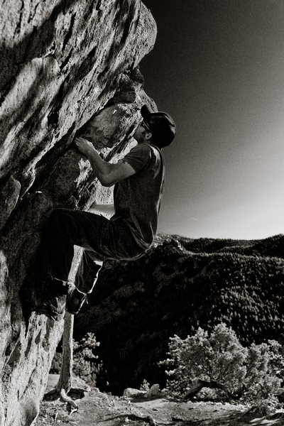 Rock Climbing Photo: Pratt Overhang.