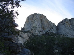 Rock Climbing Photo: En route to the toe of the buttress and start of C...