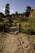 Rock Climbing Photo: Entrance to the Canyon.