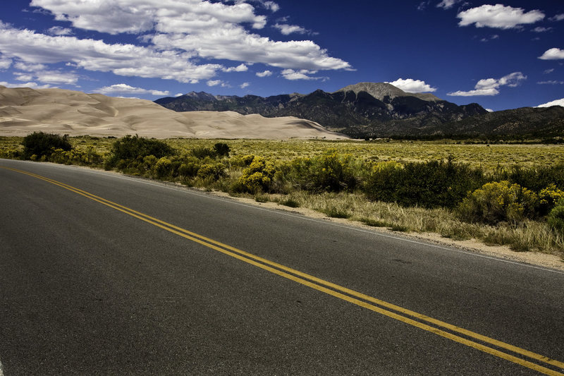 Great Sand Dunes NP is about 1 hour from Penitente and well worth a visit.